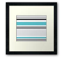 Adrut Modern Stripe Pattern 01 Framed Print