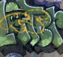 #Graffiti - Green Man by photoartful