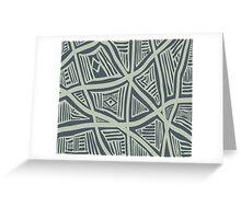 Azyka Modern Stripe Pattern 01 Greeting Card