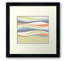 Divut Modern Stripe Pattern 03 Framed Print