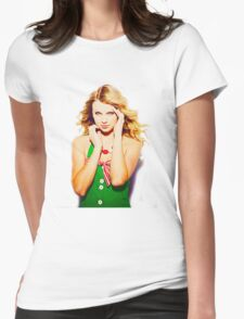 Merry Christmas Taylor Swift Womens Fitted T-Shirt