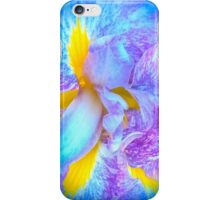 Purple And Yellow Iris Flower iPhone Case/Skin
