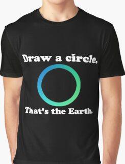 Hetalia 'Draw a circle, that's the Earth' Design Graphic T-Shirt