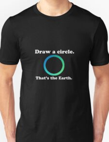 Hetalia 'Draw a circle, that's the Earth' Design Unisex T-Shirt
