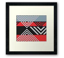 Fastina Modern Stripe Pattern 03 Framed Print