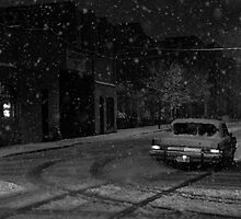On the Snowy Streets by TravisMcGuire