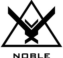 Halo: Reach - NOBLE Insignia (Black) by Fireseed-Josh