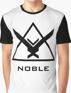Halo: Reach - NOBLE Insignia (Black) Graphic T-Shirt