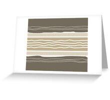 Idsoup Modern Stripe Pattern 01 Greeting Card