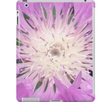 Purple And White Flower iPad Case/Skin