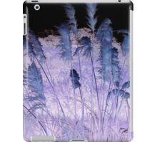 Blue And Purple Rushes iPad Case/Skin