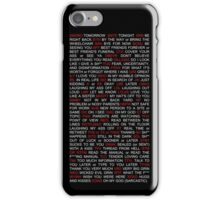 What does that mean? Texting Cheat Sheet iPhone Case/Skin