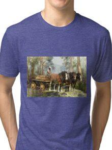 The Timber Team Tri-blend T-Shirt