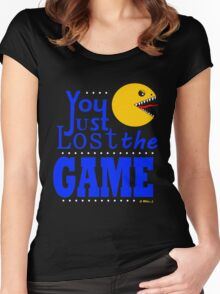 YOU JUST LOST THE GAME Women's Fitted Scoop T-Shirt