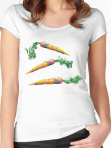 3 carrots Women's Fitted Scoop T-Shirt