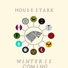 House Stark & vassal houses by Sadema