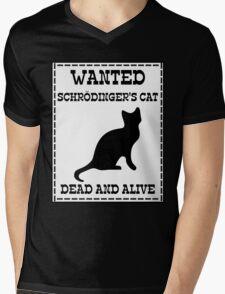 Wanted - Schrödinger's Cat Mens V-Neck T-Shirt