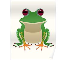 FINGERS & TOES FROG Poster