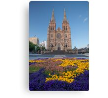 St Mary's Cathedral Sydney Canvas Print