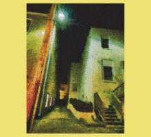 Night Alleyway Kids Tee
