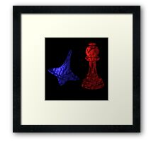 Inception - Cobb and Ariadne's Totems Framed Print