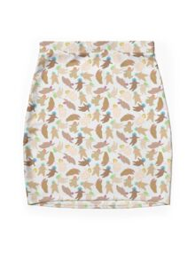 Naked Fat Ladies Mini Skirt
