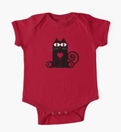 LOVE CAT One Piece - Short Sleeve