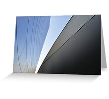 Architectural Curve Greeting Card