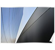 Architectural Curve Poster