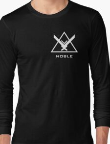Halo: Reach - NOBLE Insignia (White) Long Sleeve T-Shirt