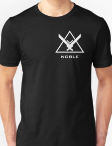 Halo: Reach - NOBLE Insignia (White) Unisex T-Shirt