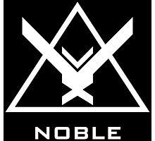 Halo: Reach - NOBLE Insignia (White) Photographic Print