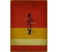 George Best - Manchester United Photographic Print