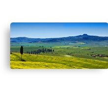 View from Pienza Canvas Print
