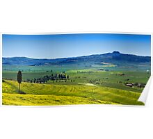 View from Pienza Poster