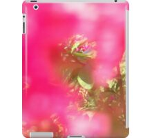 Through the Fuschia Foliage iPad Case/Skin