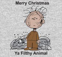 Merry Christmas ya filthy animal Baby Tee
