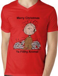 Merry Christmas ya filthy animal Mens V-Neck T-Shirt