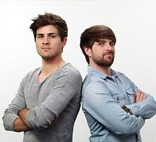 Ian and Anthony from SMOSH by AloneTimeLord