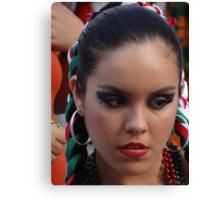 Mexican Beauty - Belleza Mexicana Canvas Print
