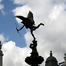 The Statue of Eros by Segalili