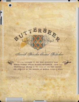 Butter Beer Labels by EF Fandom Design