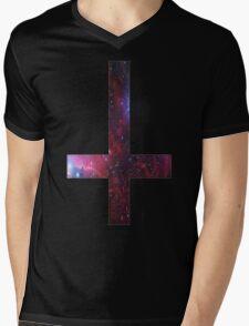 Anticross Mens V-Neck T-Shirt