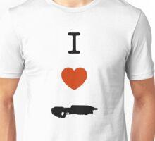 Halo - I Love Assault Rifle Unisex T-Shirt