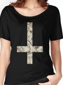 Anticross Money. Women's Relaxed Fit T-Shirt