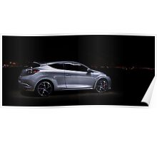 Renaultsport Megane - Night Lights Poster