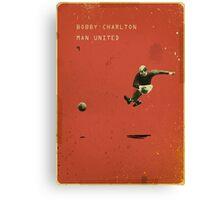 Bobby Charlton - Manchester United Canvas Print