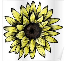 The Sunflower Poster