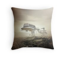 Reinventing the Escape Throw Pillow