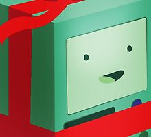 Adventure Time BMO Holiday Gift by Cloakandbadger